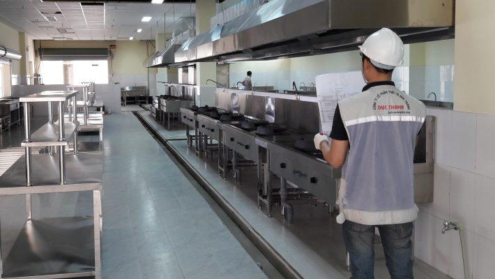 Bếp công nghiệp thực tế